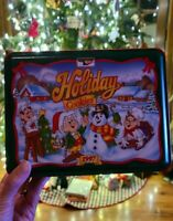 Vintage 1997 Keebler Holiday Christmas Cookie Tin Collectible Container Box