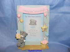 Me To You Tatty Teddy Bear 18th Birthday Picture Frame Gift Present G01F0840SK