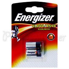 2 x Energizer Alkaline 4LR44 A544 batteries 6V PX28A 476A Pack of 2