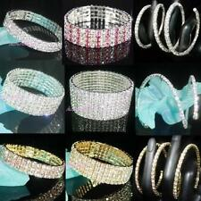 Unbranded Silver Plated Crystal Costume Bracelets