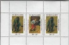 Suriname postfris 1971 MNH 573 blok - Kind / Pieter Brueghel