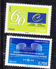 ¤¤ Yvert service 142/143 - Conseil de l'Europe 2009 - Neuf**  ¤¤