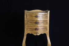 Guéridon peint / Pedestal side table painted 19th
