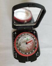 Brunton Mirror Compass Type 26. Case closes with clasp