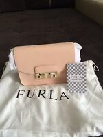 Furla Julia.100% auth.NEW with Tags. Magnolia COLOUR.BEST PRICE.GORGEUS FURLA
