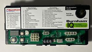 Burnham Hydronics IQ Boiler Control Vent Damper Part # 102289-01