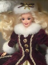 1996 Happy Holidays Barbie doll NRFB Christmas Holiday Superstar face