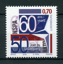 Luxembourg 2018 MNH NSPA NATO Support & Procurement Agency 1v Set Stamps