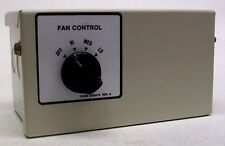 NOS 4 POSITION HEAVY DUTY FAN SPEED CONTROL BOX FOR EXHAUST COOLING AC HEAT KB