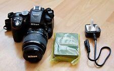 Nikon D5300 24.2MP Fotocamera Reflex Digitale-Nero kit con AF-S DX LENTE 18-55mm ED II