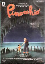 PINOCCHIO - ENZO D'ALO' LORENZO MATTOTTI -boll. noleggio - DVD NUOVO