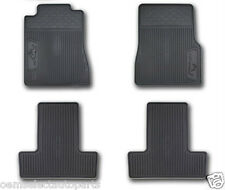 OEM NEW 2005-2009 Ford Mustang All-Weather Vinyl Floor Mats Rubber- Pony Logo