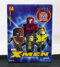 NEW - X-MEN MINIMATES - Wolverine JUGGERNAUT Magneto CYCLOPS - DVD Art Asylum