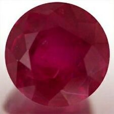 Masterpiece Collection: Round AAA Genuine Bright Red Ruby (2mm to 5mm)