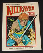 Marvel Graphic Novel #7; Killraven; VF- (1983); Free Shipping!