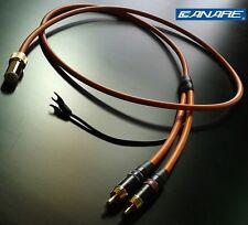 Canare starquad tonearm cable - for Linn, SME, Roksan etc - 24AWG - 120cm long