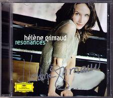 Helene GRIMAUD Signiert RESONANCES Bartok Berg Liszt Mozart Sonata Romanian CD