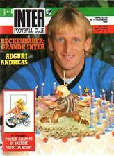 INTER FOOTBALL CLUB-N°10 1989-POSTER GIGANTE BREHME