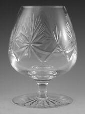 """EDINBURGH Crystal - STAR of EDINBURGH - Brandy Glass / Glasses - 5"""""""