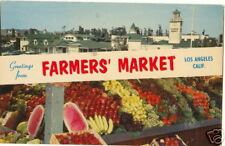 Greetings from FARMERS MARKET LA ~Std Size Chrome