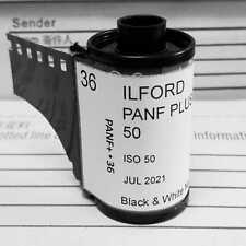 35mm- Ilford PANF plus black&white film 36exp (*5 rolls) In-house studio loaded