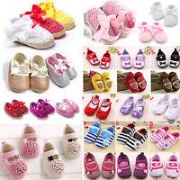 Baby Toddler Kid Girl Princess Crib Shoes Summer Outdoor Sandals Prewalker 0-18M