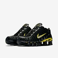 Nike Shox TL Trainers Black / Green CN0151-002 Size: UK 7 , 8 , 9 , 10 , 11