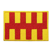 Northumberland County Flag Patch Iron On Patch Sew On Embroidered Patch