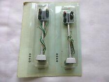 FULGUREX HO / OO GAUGE  ELECTRIC OPERATED 4 ASPECT LIGHT SIGNALS 4060  x 2 [NEW]