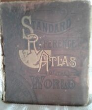 1898 The Standard Reference Atlas and Gazetteer of the World by Loomis T. Palmer
