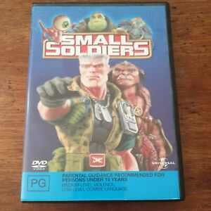 Small Soldiers  DVD R4 Like New! FREE POST