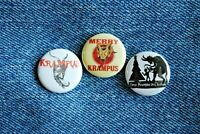 "Krampus Movie Buttons Pins Badge 1"" pinback Horror Merry Christmas crampus"