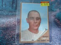 1962 TOPPS JOHNNY TEMPLE ORIOLES