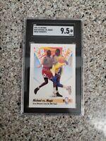 1991-92 SKYBOX MICHAEL JORDAN VS MAGIC JOHNSON #333 SGC 9.5=MINT+! PSA 10 CROSS?
