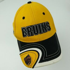 Boston Bruins CCM Hockey NHL Adjustable Adult Ball Cap Hat