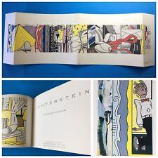 Roy Lichtenstein at Leo Castelli Gallery 1983 Rare Exhibition Catalog Cool Cover