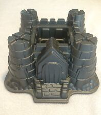 Nordicware Castle Bundt Cake Pan 10 Cup Sandcastle Heavy Mold
