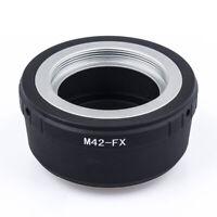 M42-Fx M42 Lens To For Fujifilm X Mount Fuji X-Pro1 X-M1 X-E1 X-E2 Adapt XE