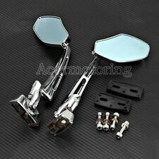 6MM CNC Racing Side Mirrors For Kawasaki NINJA 250 300 636 ZX 6R 7R 9R 10R 12R