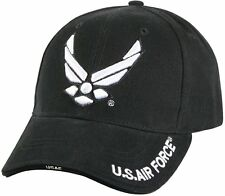 3649835b47e Deluxe U.S. Air Force Wing Low Profile Insignia Cap 9384 Rothco