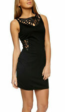 House of Dereon Black Beyonce New Dress UK Size Medium (UK 10- UK 12)