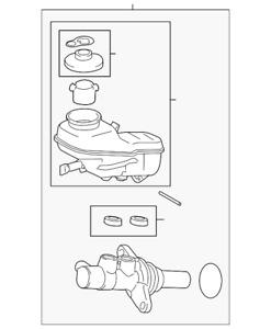 Genuine Toyota Master Cylinder 47201-02660