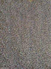 12 Silver Mardi Gras Beads Necklaces Party Favors Metallic 1 Dozen Lot