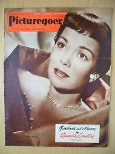 PICTUREGOER FILM MAGAZINE August 1950: JANE WYMAN: Gardner & Mason on Spanish...