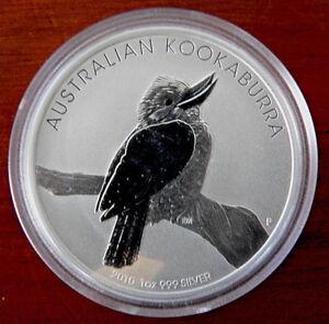 Perth Mint 1 Oz .999 Silver 2010 Australian Kookaburra  *FREE POST TRACK & SIGN*