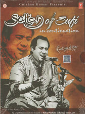 RAHAT FATEH ALI KHAN  -SULTAN OF SUFI IN CONTINUATION - NEW BOLLYWOOD 2 CDs SET