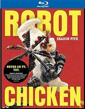 ROBOT CHICKEN: SEASON FIVE - BLURAY - Region Free