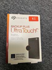 SEAGATE BACKUP PLUS ULTRA TOUCH 1TB EXTERNAL HARD DRIVE USB-C/3.0 *SHIPS FREE*