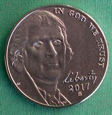 2017 S Jefferson Nickel 5 Cent Enhanced Uncirculated 225th Anniv US Mint 5c