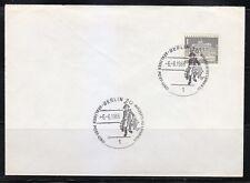 Germany Berlin 1966 cover Fernmelde museum.Post museum cancel